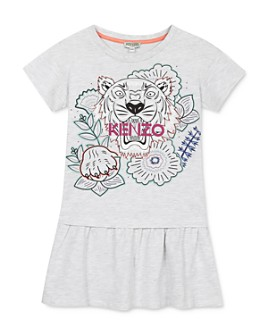 Kenzo - Girls' Tiger Flounce Dress - Little Kid