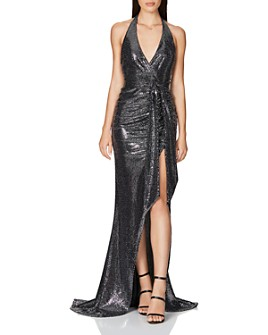 Nookie - Metallic Sequin Gown