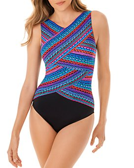 Miraclesuit Plus - Carnivale Brio One Piece Swimsuit