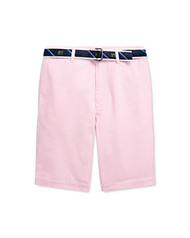 Ralph Lauren - Boys' Slim Fit Belted Oxford Shorts - Big Kid