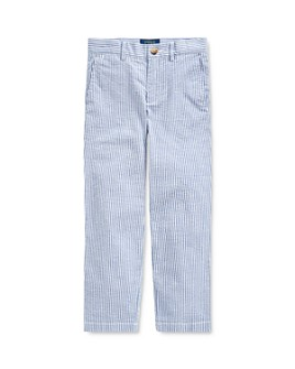 Ralph Lauren - Boys' Stretch Seersucker Skinny Pants - Little Kid