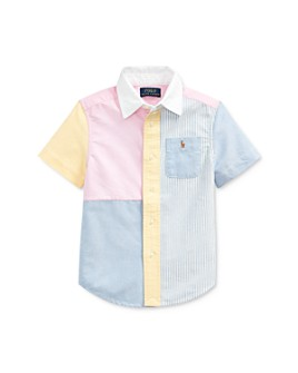 Ralph Lauren - Boys' Color-Block Oxford Fun Shirt - Little Kid