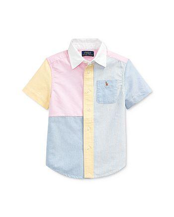 Ralph Lauren - Boys' Color-Block Oxford Fun Shirt - Little Kid
