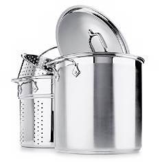 All-Clad Stainless Steel 4-Piece Multi Pot 12-Quart Cooker - Bloomingdale's Registry_0