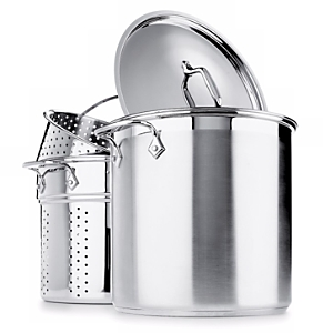 All-Clad Stainless Steel 4-Piece Multi Pot 12-Quart Cooker