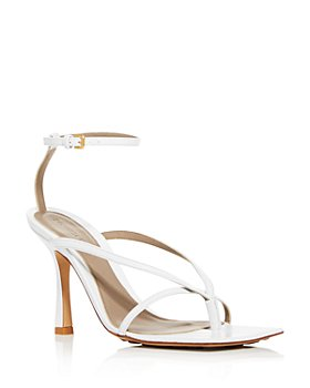Bottega Veneta - Women's Square-Toe High-Heel Sandals