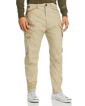G-STAR RAW - Droner Relaxed Regular Fit Tapered Pants in Khaki