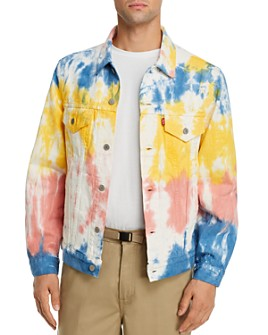 Levi's - Vintage Tie-Dyed Regular Fit Denim Trucker Jacket