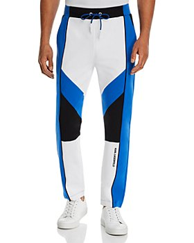 KARL LAGERFELD PARIS - Color-Blocked Slim Fit Track Pants