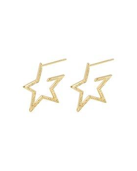 Gorjana - Small Star Hoop Earrings