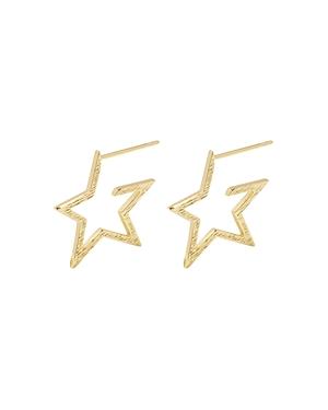 Gorjana Small Star Hoop Earrings-Jewelry & Accessories