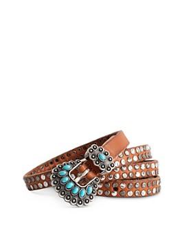 Zadig & Voltaire - Studded Leather Belt