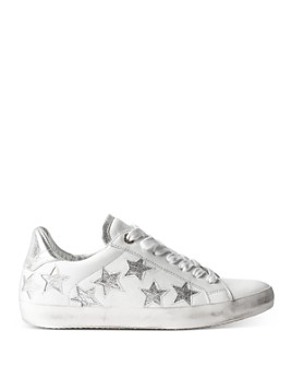 Zadig & Voltaire - Women's Star-Embellished Low-Top Sneakers
