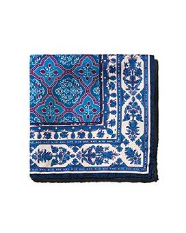 Eton - Floral Silk Pocket Square