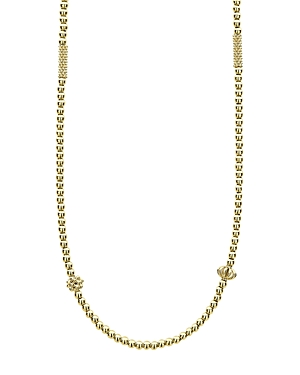 Lagos 18K Gold Caviar Beaded Necklace, 18-Jewelry & Accessories
