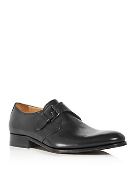 To Boot New York - Men's Conner Leather Single Monkstrap Loafers