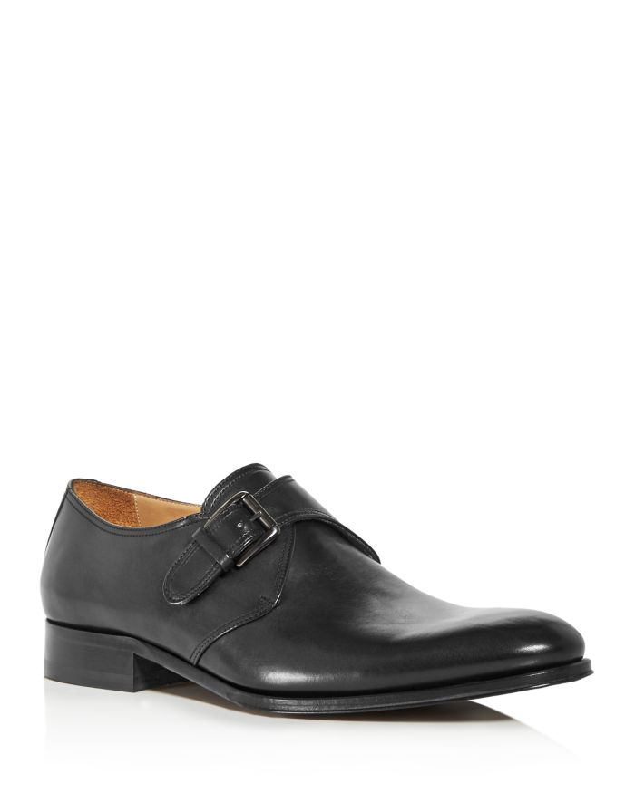 To Boot New York Men's Conner Leather Single Monkstrap Loafers  | Bloomingdale's