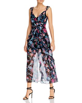 Rachel Zoe - Paris Floral-Print Ruffled Midi Dress