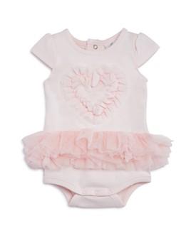 Miniclasix - Girls' Ruffled-Heart Bodysuit - Baby