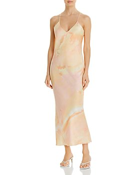 ALIX NYC - Lewis Silk Tie-Dye Slip Dress
