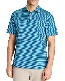 Vineyard Vines - Bradley Striped Sankaty Polo Shirt