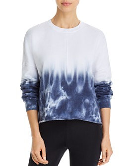AQUA - Tie-Dye Crewneck Sweatshirt