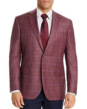 Jack Victor - Conway Plaid Regular Fit Sport Coat