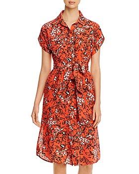 Yumi Kim - Signature Silk Printed Shirt Dress