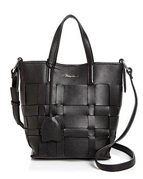 3.1 Phillip Lim - Odita Mini Modern Small Lattice Leather Bucket Bag