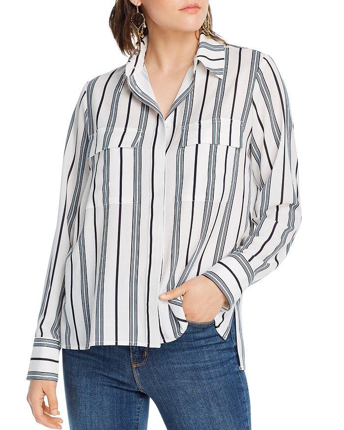 Lini Eva Striped Top - 100% Exclusive In White/blue