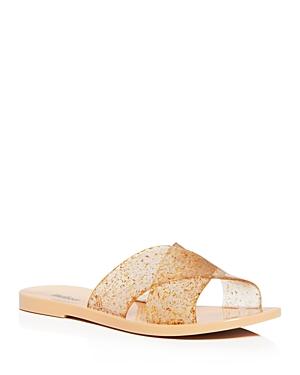 Melissa Women\\\'s Essential Crisscross Slide Sandals