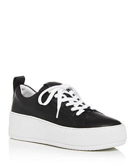J/Slides - Women's Margot Low-Top Platform Sneakers