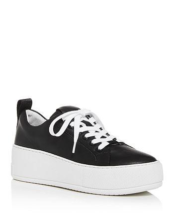 J/Slides - Women's Margot Low-Top Platform Sneakers