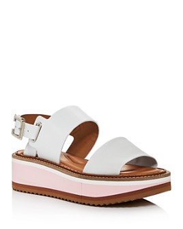 Clergerie - Women's Fleur Platform Wedge Sandals
