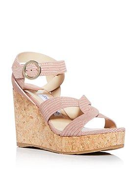 Jimmy Choo - Women's Aleili 100 Platform Wedge Sandals