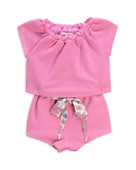 Chloé - Girls' Floral-Tie Romper - Baby