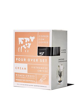 Copper Cow Coffee - Cream Pour Over Set - Pack of 5
