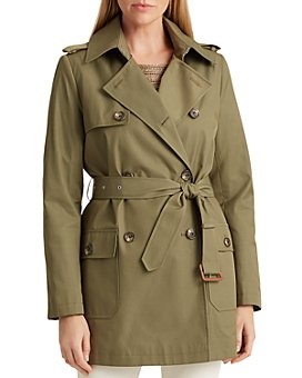 Ralph Lauren - Patch Pocket Short Trench Coat