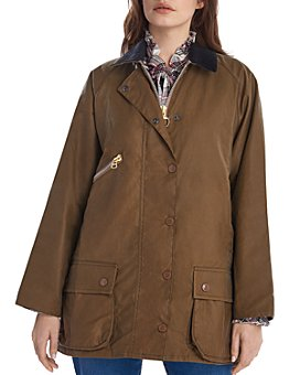 Barbour - Barbour by ALEXA CHUNG Edith Waxed Cotton Jacket