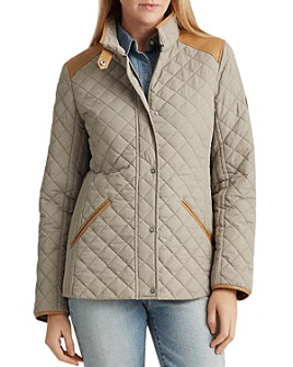 Ralph Lauren - Diamond-Quilted Short Coat