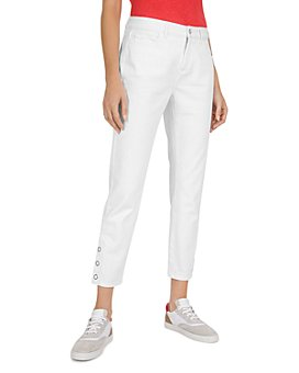 Gerard Darel - Cropped Snap-Cuff Straight-Leg Pants