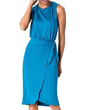 Leota - Helene Blouson A-Line Dress