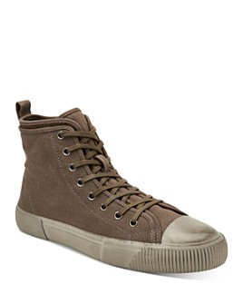 ALLSAINTS - Men's Rigg Embroidered High-Top Sneakers