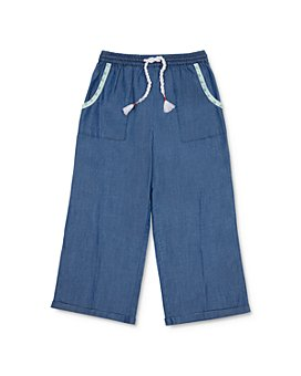 Peek Kids - Kerri Chambray Cropped Pants - Little Kid, Big Kid