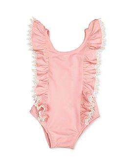 Miniclasix - Girls' Ruffled-Strap Swimsuit - Baby