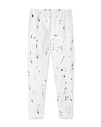 Ralph Lauren - Girls' Paint-Splatter Leggings - Big Kid