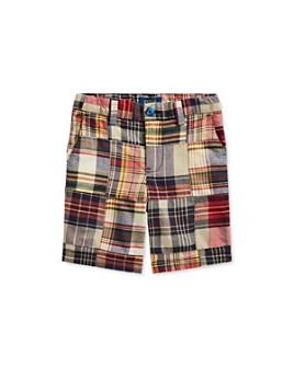Ralph Lauren - Boys' Cotton Slim Fit Madras Shorts - Little Kid