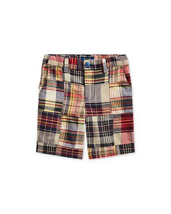 Ralph Lauren - Boys' Cotton Slim Fit Madras Shorts - Little Kid