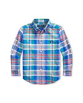 Ralph Lauren - Boys' Cotton Plaid Poplin Shirt - Little Kid