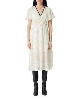 Maje - Racky Printed Midi Dress